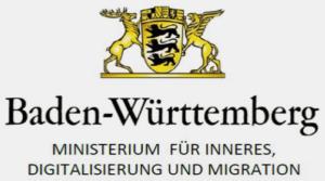 Logo: Ministerium für Inneres, Digitalisierung und Migration in Baden Württemberg