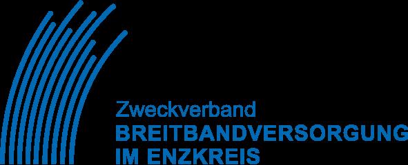Logo Zweckverband Breitbandausbau im Enzkreis - blau